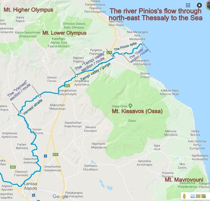 River-Pinios-Map