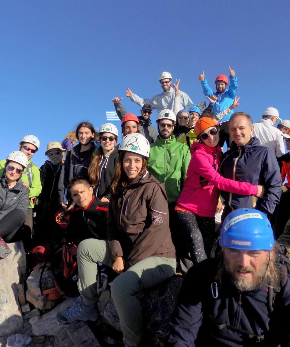 Mt. Olympus ascent