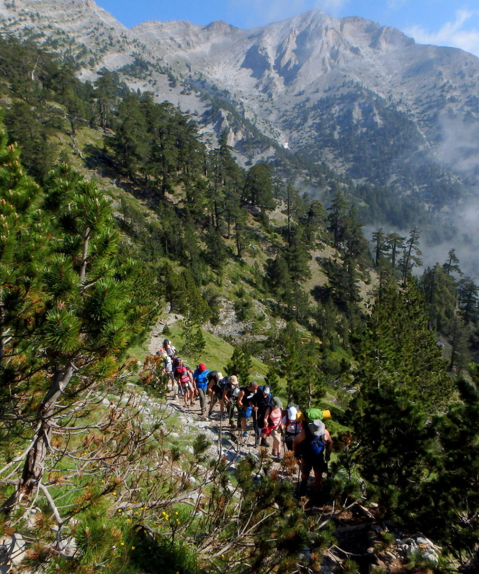 Mt. Olympus ascent
