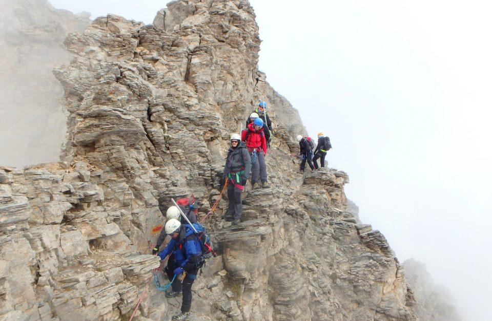 3-day & 4-day Mt. Olympus ascent with Via Cordata to the Highest summit